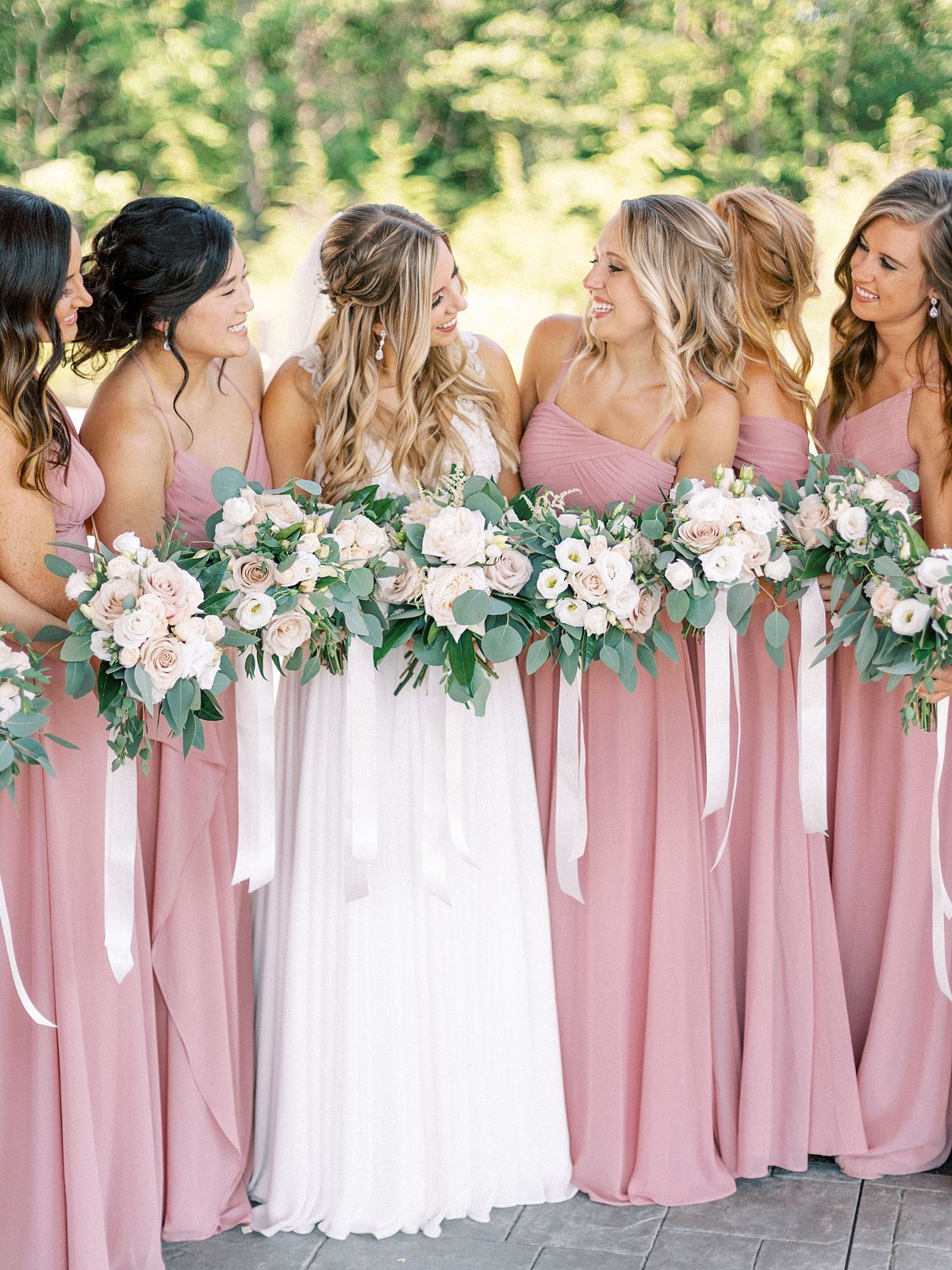 24 Best Bridesmaids Dresses For The Fine Art Bride In 2020 Blush Colored Bridesmaid Dresses Blush Bridesmaid Dresses Summer Blush Pink Bridesmaid Dresses