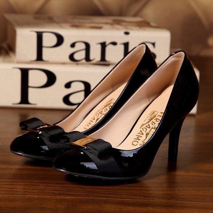 7c41bf3fc Women Salvatore Ferragamo Uk Online Black High Heel