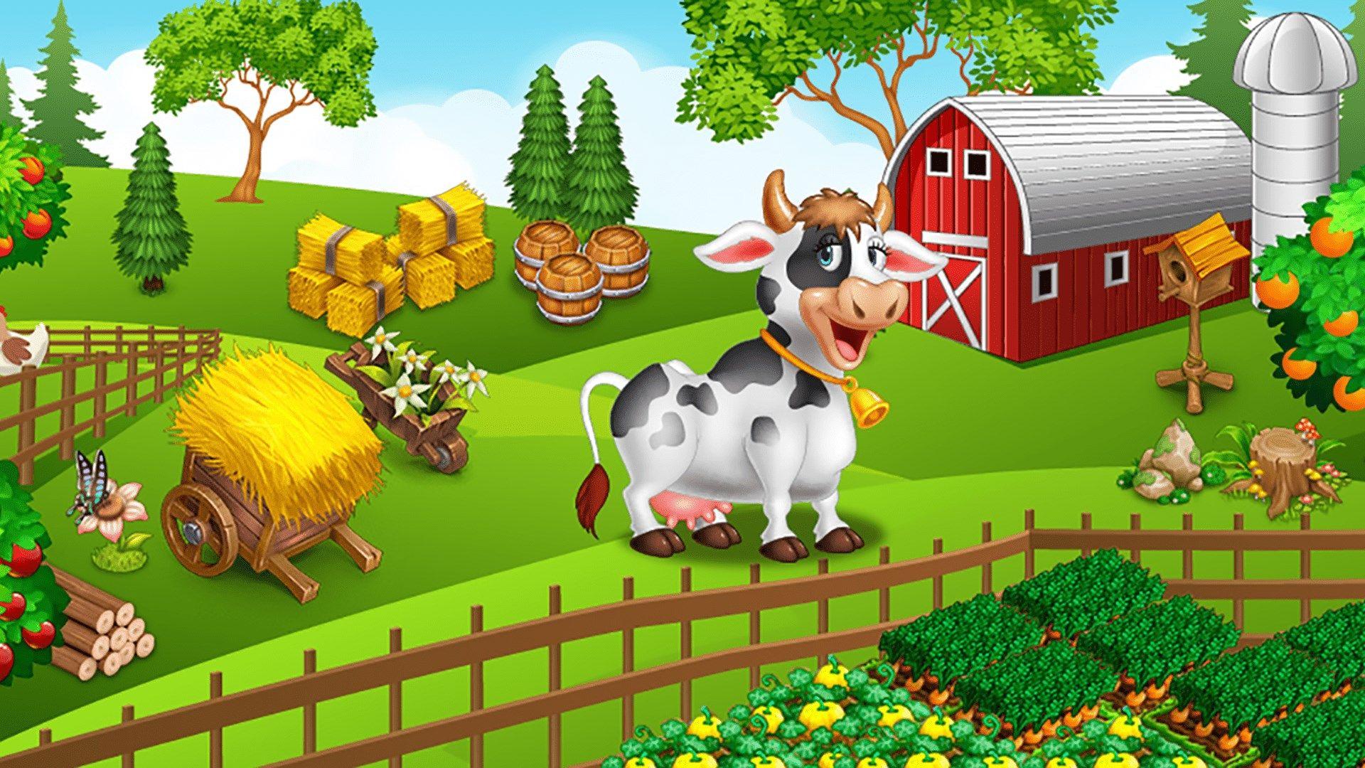 وانتهت الحكاية لعبة المزرعة السعيدة التي أحبها الملايين لن تكون موجودة مع نهاية 2020 Farm Animal Costumes Farm Animals Animal Illustration