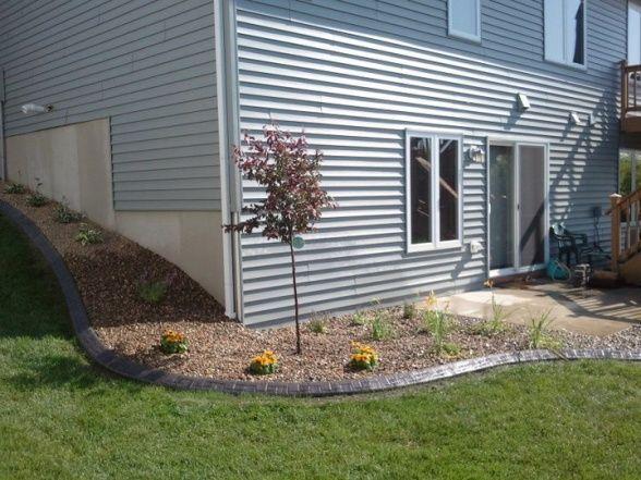 Landscaping for suburban home   Yard design, Landscape ...