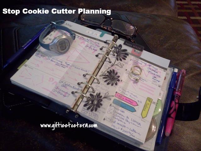 Giftie Etcetera: Stop Cookie Cutter Planning