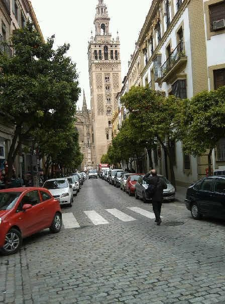 The streets of Sevilla, Spain