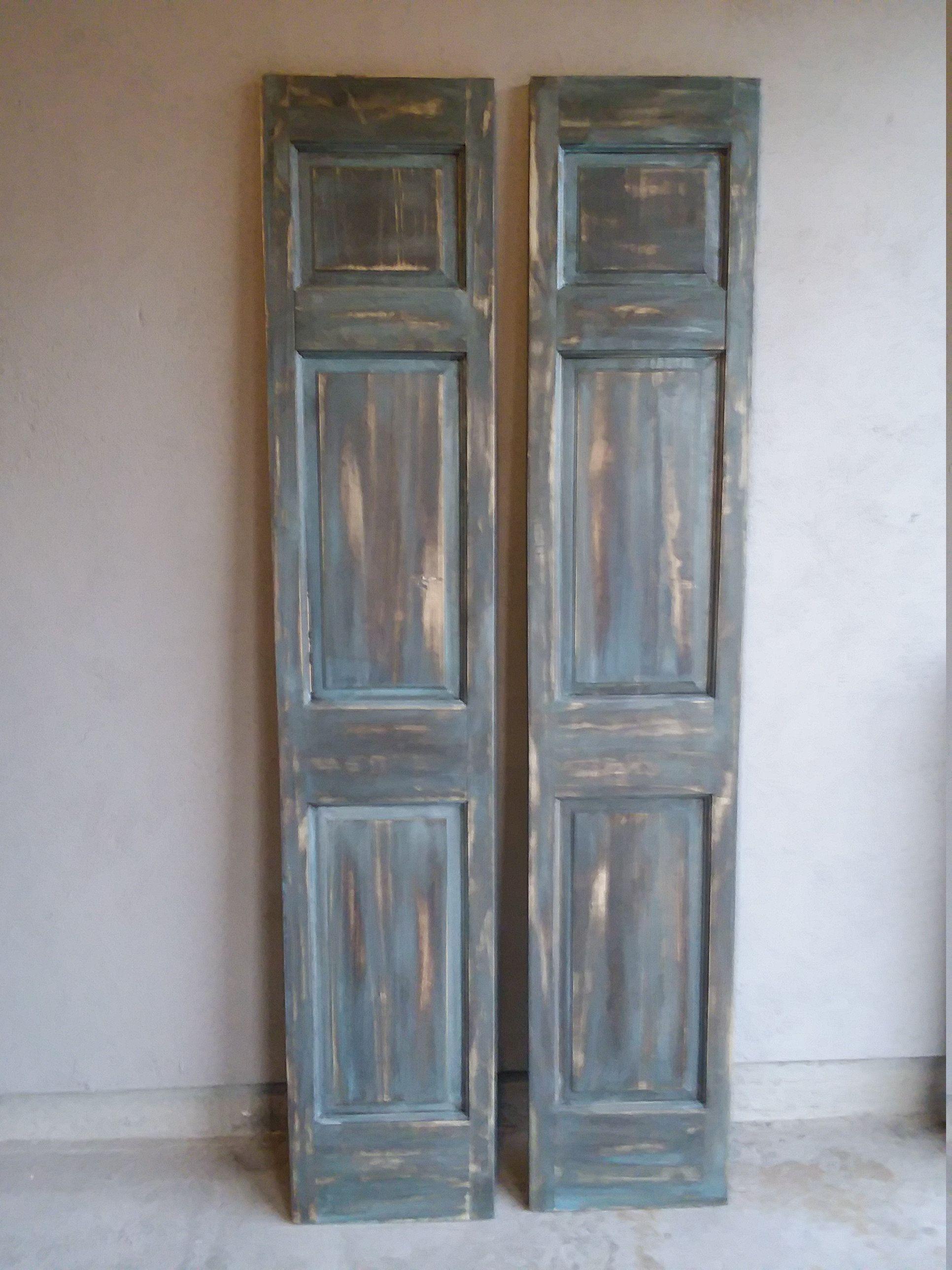 Rustic Doors French Door Pair Antique Doors Bi-Fold Doors ...