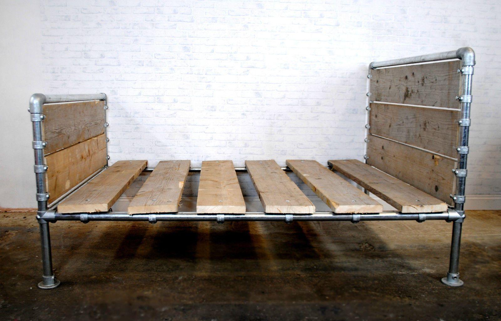 Galvanized Steel Pipe Reclaimed Scaffolding Board Urban ...