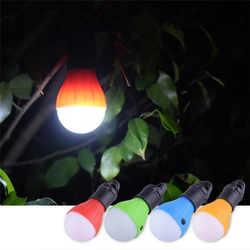 Portable Outdoor Hanging 3led Camping Lantern Soft Light Led Camp Lights Bulb Lamp For Camping Tent Fishi Camping Tent Lights Portable Led Lights Tent Lighting