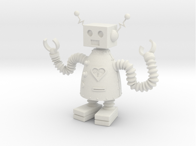 Robot that Loves 3d printed