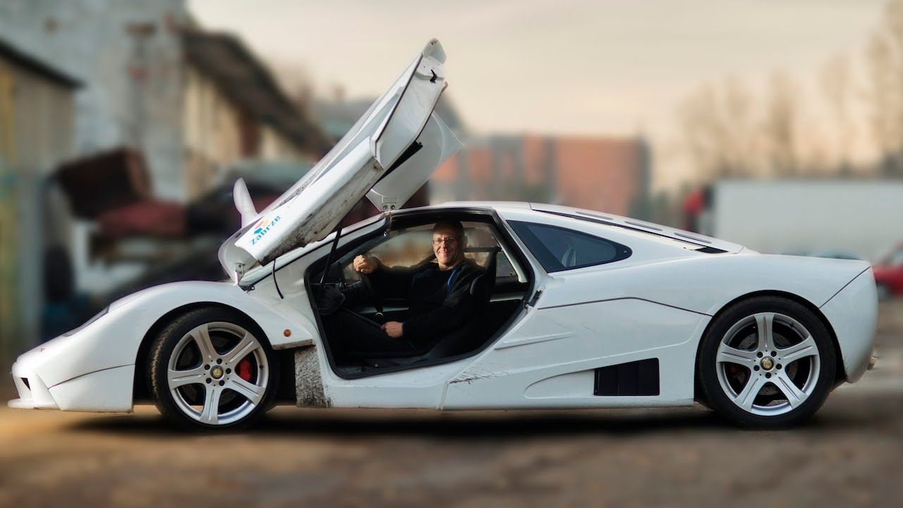 Top Gear Fanatic Builds Replica Of 5 000 000 Supercar From Scrap Super Cars Top Gear Gear S