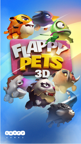 Game FEATURES: - 9 pets: flappy bird, flappy rhino, flappy
