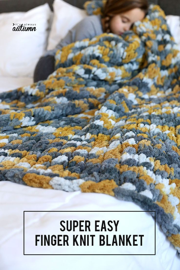 It is super easy to make this beautiful knitted cable blanket with loop yarn   It is super easy to make this beautiful knitted cable blanket with loop yarn You can  blank...