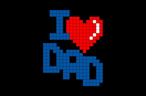 Un body Love Dad per annunciare il lieto evento