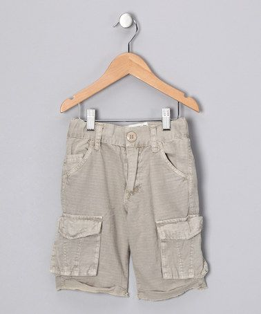 Take a look at this Tan Finn Cargo Shorts - Boys by Alpha Industries on #zulily today!