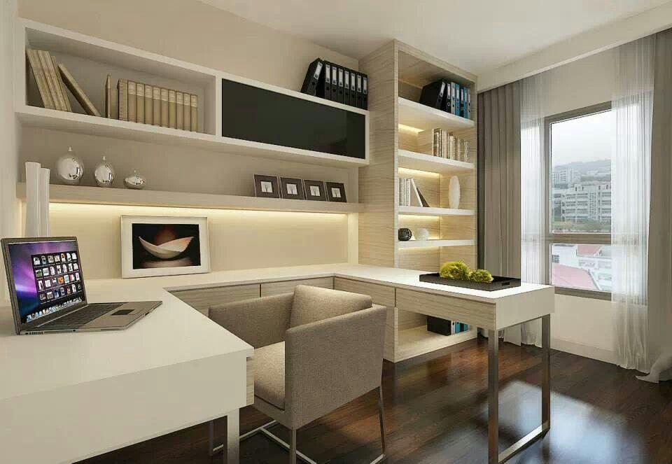 Inspiratie voor een werkkamer met veel opbergplek werkplek