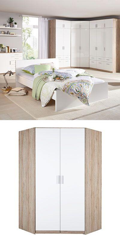 DREHTÜRENSCHRANK in Weiß | Schlafzimmer | Pinterest | 30th