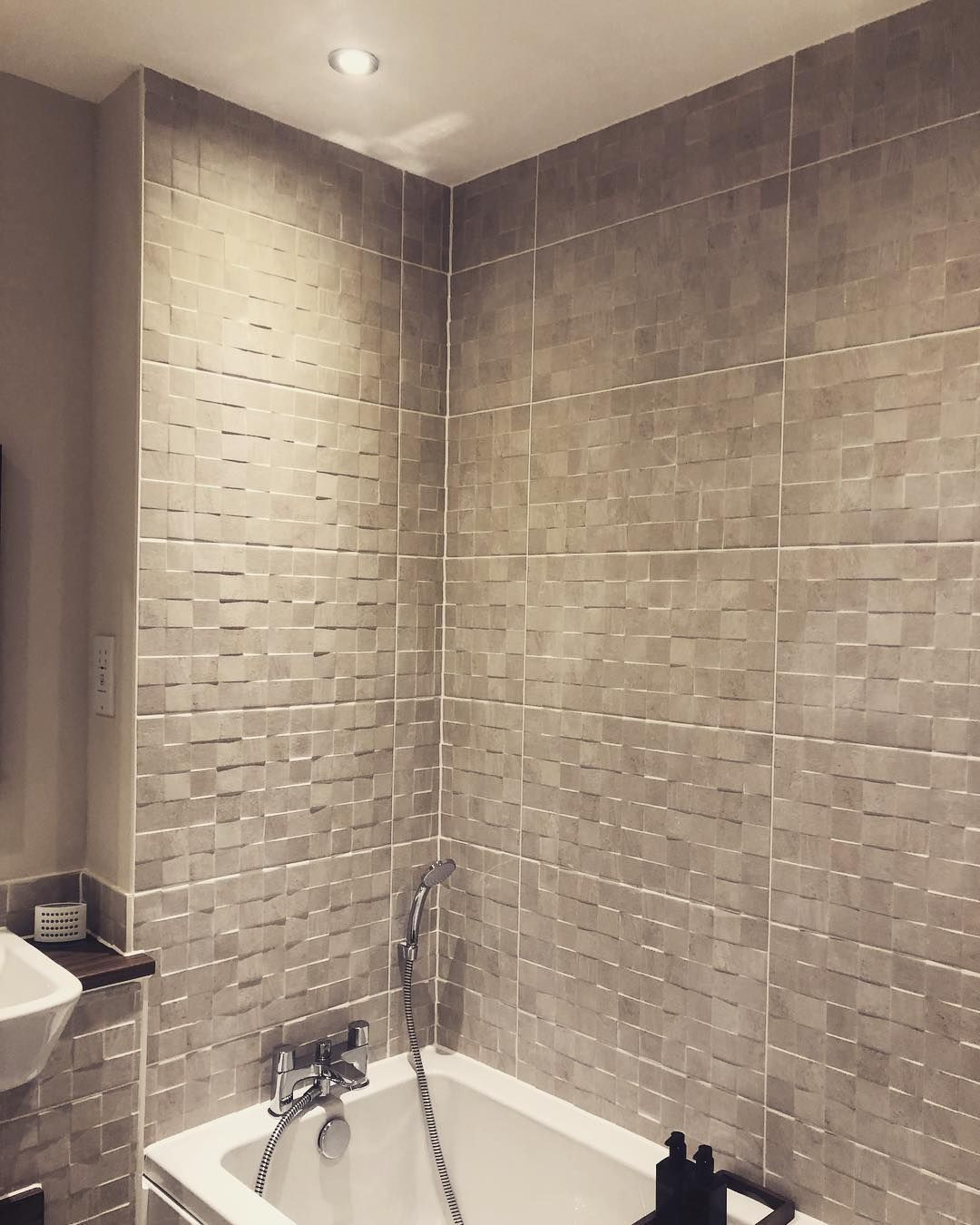 New The 10 Best Home Decor With Pictures Love These Textured Tiles The Clean Light Modern Bathroom Tile Bathroom Tile Inspiration Vintage Bathroom Tile