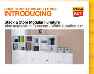Home Decorators Collection - Stack & Store Modular Furniture