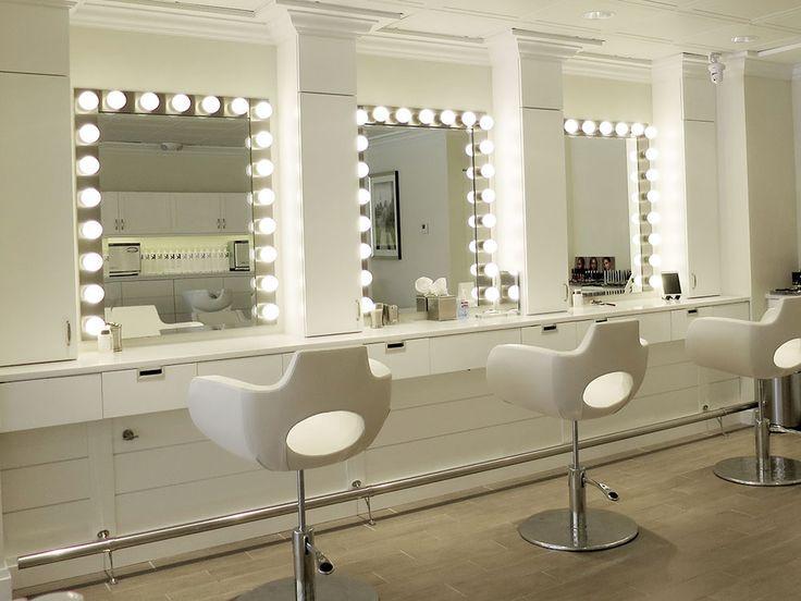 Pin by tweet e byrd on boutique salon work studio for Makeup salon