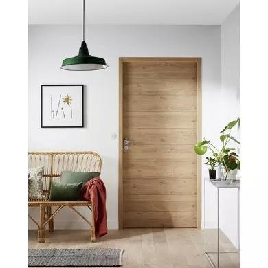 Bloc Porte Naiade Bati Fin De Chantier Thermique Serrure 3 Points Portes En 2020 Decoration Interieur Appartement Portes En Bois Modernes Deco Maison