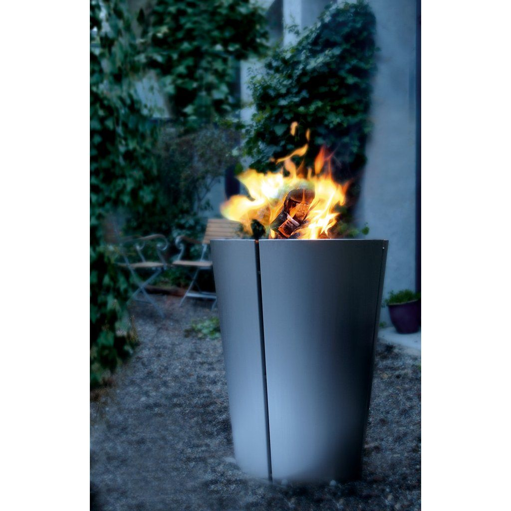 Charcoal grill bbq stainless steel by eva solo fire pits