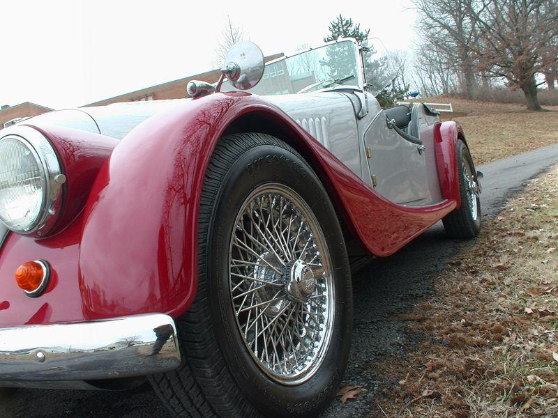 1958 4+4 4, Restoration, Antique cars