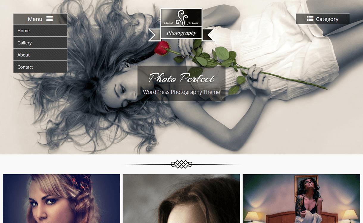 Photo Perfect-Free Photography WordPress Theme | Best Free ...