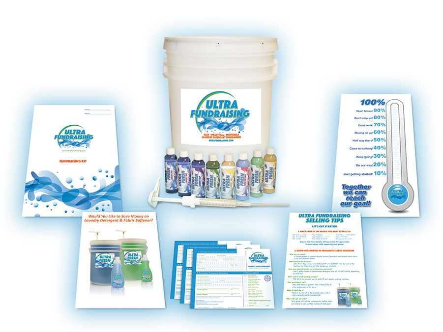 Fast Easy Laundry Detergent Fundraising Successful Fundraisers