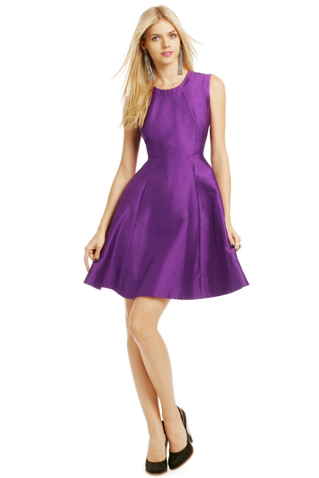 61f309f3db5 Grape Soda Pop Dress by kate spade new york  75 to rent from renttherunway!