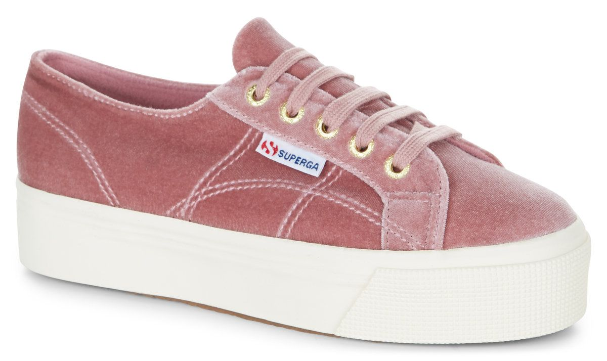 1b2617e3b6ba Superga 2790 Velvet Dusty Rose