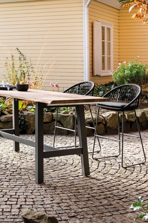 Niehoff Garden Gartentisch Ted Mit Teak Aluminium Gartentisch Gartenmobel Sets Leben Unter Freiem Himmel