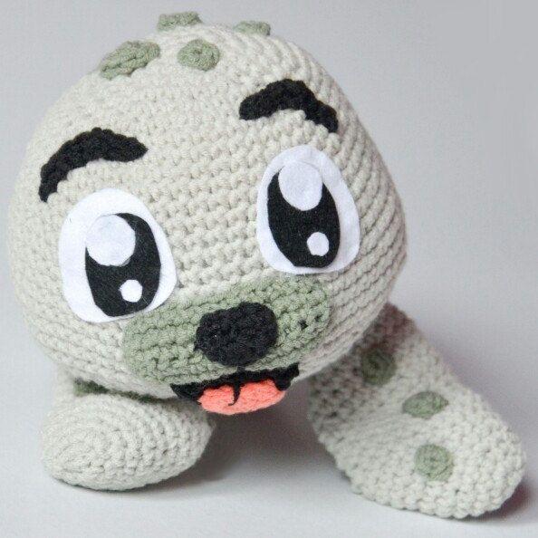 Crochet PATTERN No 1637 - Baby Seal by Krawka, cute, winter, sea ...