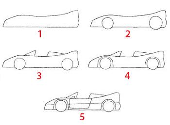 Voiture facile a dessiner recherche google cars - Voiture simple a dessiner ...