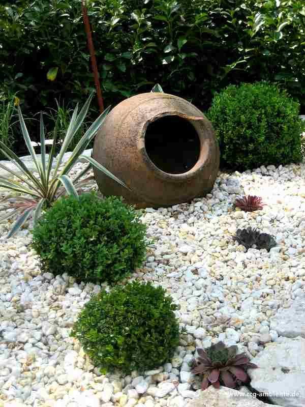 gestaltung kiesbeete ambiente giardino ideen rund ums haus pinterest kiesbeet garten. Black Bedroom Furniture Sets. Home Design Ideas