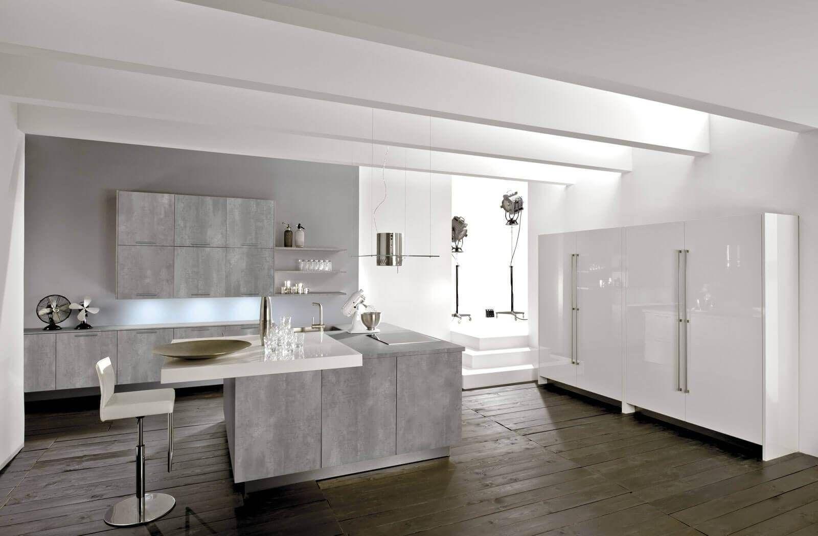 Küchendesign neuer stil graue küche die  schönsten ideen und bilder  interiors