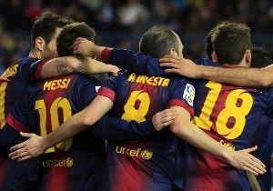 El Barça, una piña: