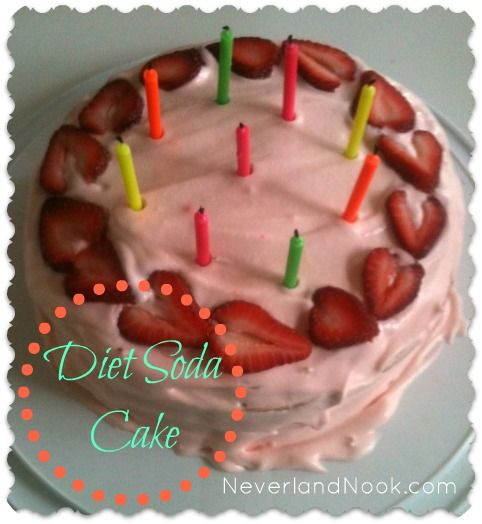 Diet Soda Cakede It Today And It Was Delicious Food
