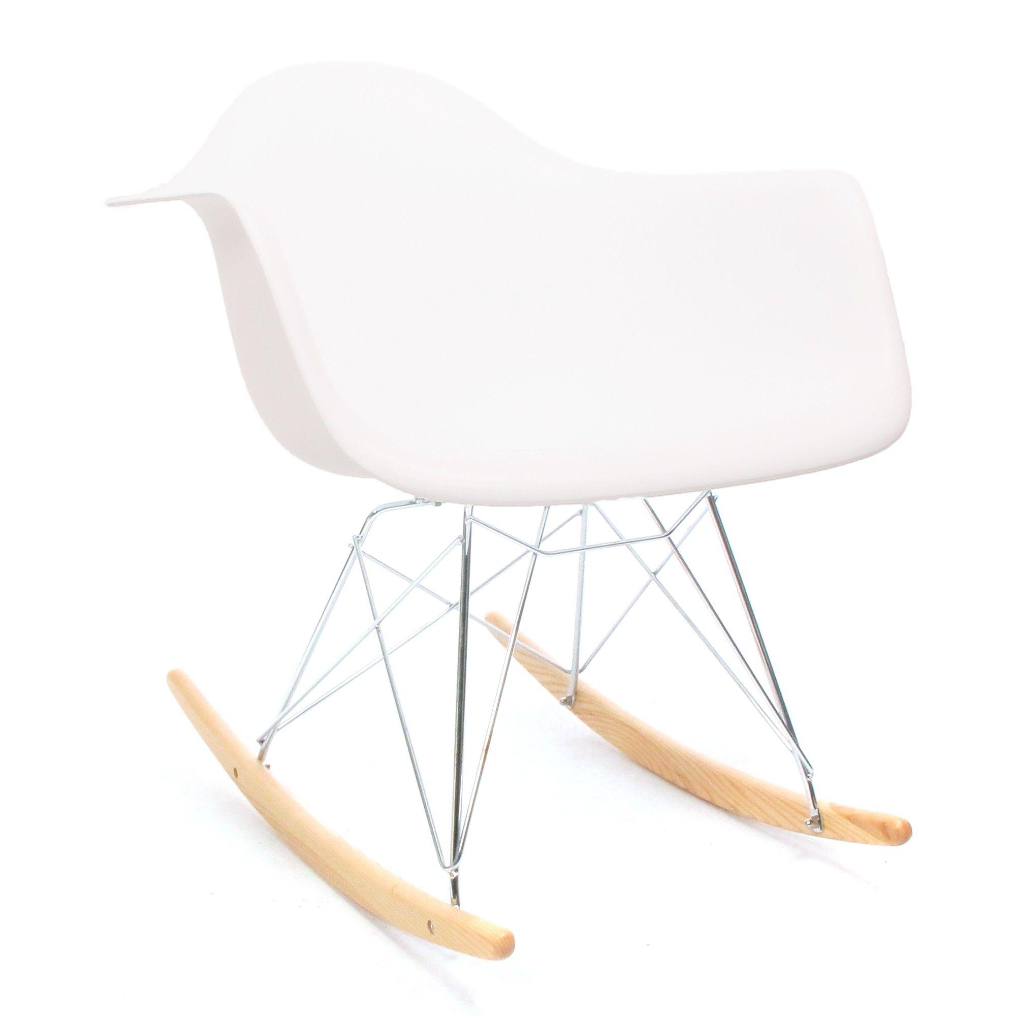 Eames RAR schommelstoel wit Rocking chair, Eames, Chair