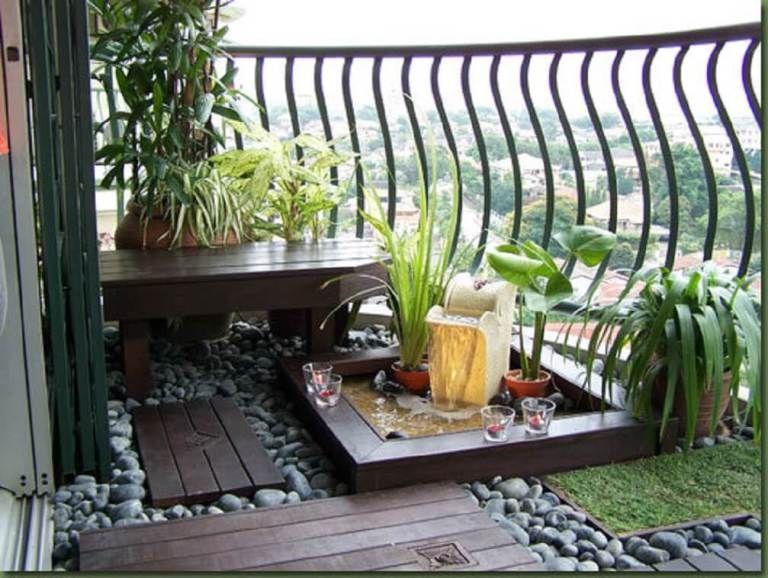 50 Amazing Balcony Garden Designs Ideas Farmfoodfamily Small Balcony Design Apartment Garden Small Patio Garden