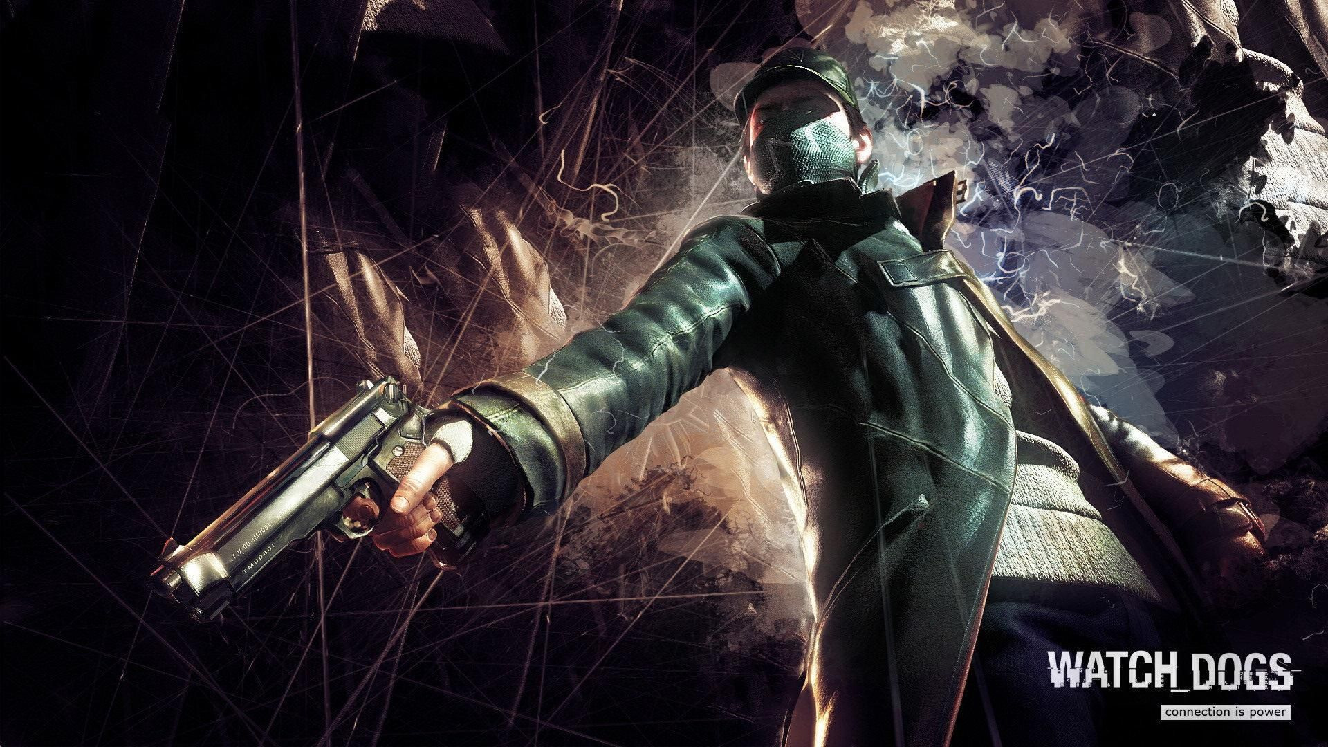 watch dogs connection power | gaming desktop wallpapers | pinterest