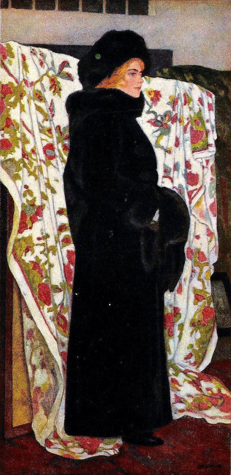 Emil Orlik (1870-1932, Austrian-Bohemian painter)