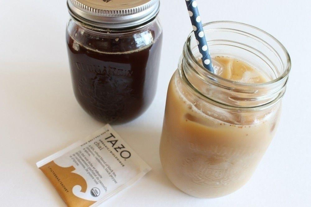 Homemade Chai Latte Recipe Iced chai tea, Iced chai