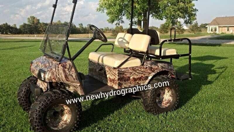 Camo Golf Cart Golf carts, Custom golf carts, Golf
