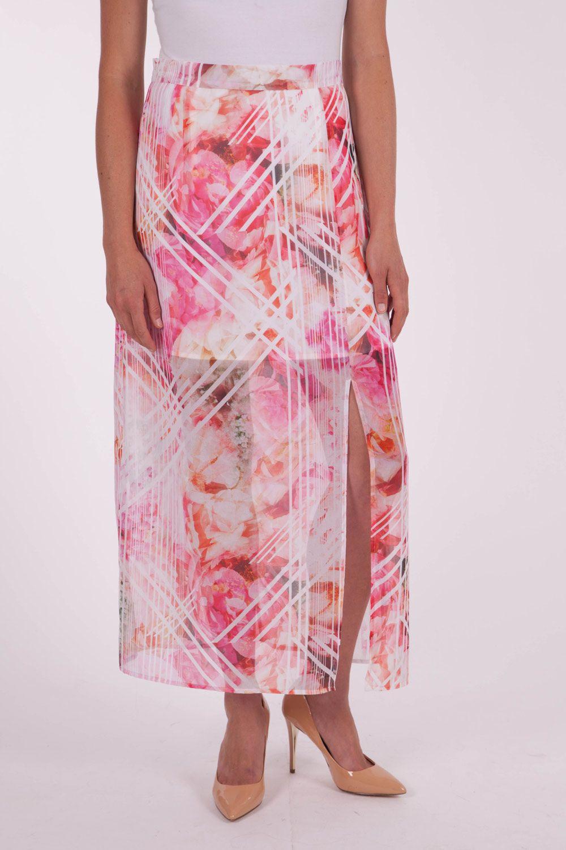 Cooper St - Geo Rose Maxi Skirt
