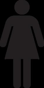 Woman Figure Symbol Clip Art Ladies Bathroom Toilet Logo Bathroom Signs