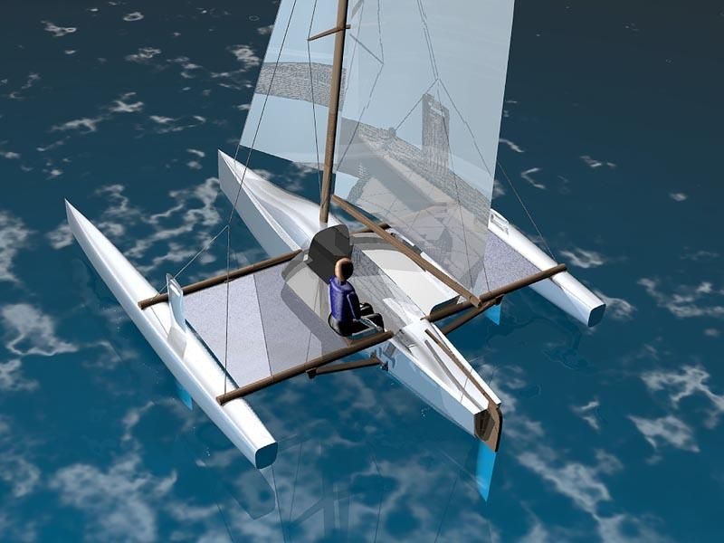 Trimaran Boat Design | PDF Diy Trimaran boat cradle plans