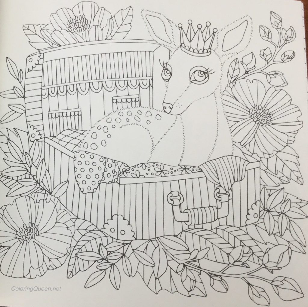 Fairy Tales Coloring Book Review (published in Sweden as