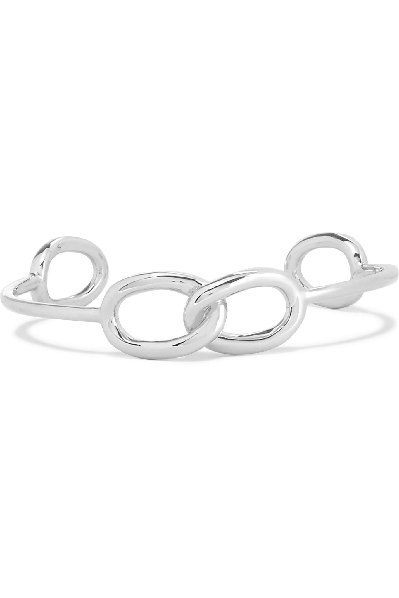 Jennifer Fisher Woman Chain Link Silver-plated Cuff Silver Size Jennifer Fisher Footlocker Pictures Cheap Online Latest Collections Cheap Price D6tMGELmWK