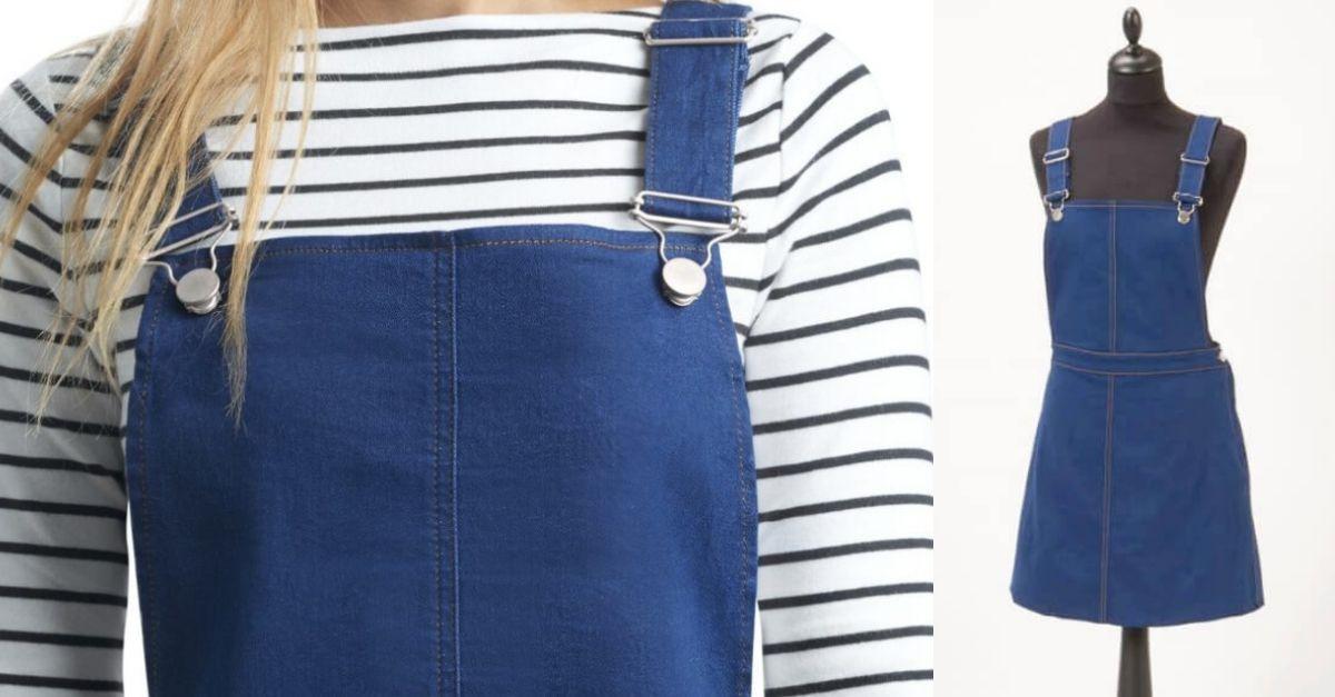 Jeans-Kleid – Blue Jeans Dress | Drucken, Jeans kleid und Magazin