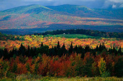 Vermont on kauneimmillaan ruska-aikaan.