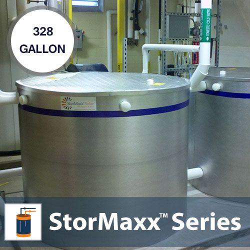 328 Gallon Non Pressurized Buffer Tank Solar Hot Water Tank Solar Hot Water Water Tank