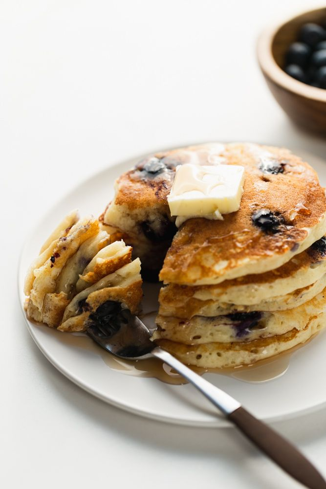 Best Buttermilk Blueberry Pancakes 3 Scoops Of Sugar Recipe In 2020 Blueberry Pancakes Breakfast Brunch Recipes Blueberry Buttermilk Pancakes
