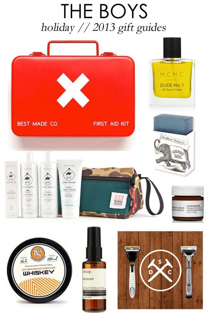 Holiday Gift Guide 2013: For the Boys | Beauty + Fashion ...
